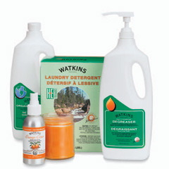 Watkins cleaning products